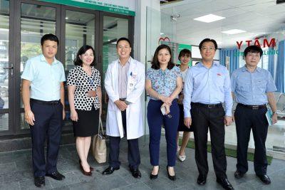 Lãnh đạo UBND quận Hà Đông kiểm tra cơ sở vật chất, điều kiện khám chữa bệnh tại phòng khám