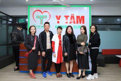 Nghệ Sĩ Nhà Hát Kịch Hà Nội khám sức khỏe tại Y Tâm